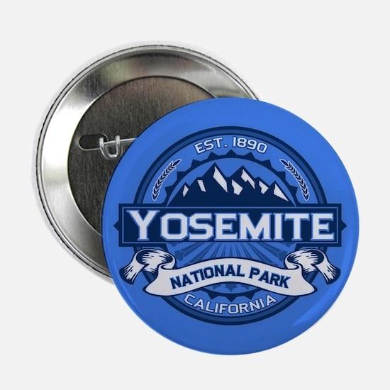 """Yosemite Blue 2.25"""" Button"""