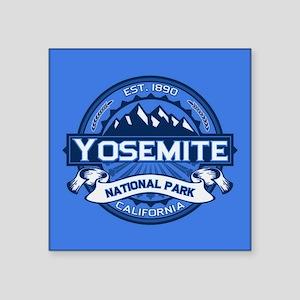 """Yosemite Blue Square Sticker 3"""" x 3"""""""
