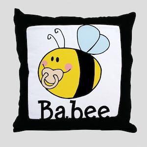 Babee Bee Throw Pillow