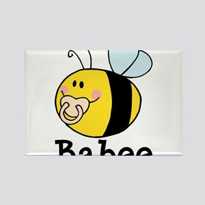 Babee Bee Rectangle Magnet
