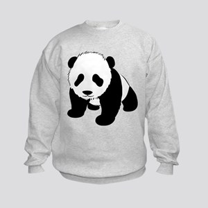 Panda Bear Kids Sweatshirt