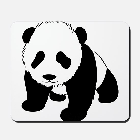 Panda Bear Mousepad