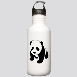 Panda Bear Stainless Water Bottle 1.0L