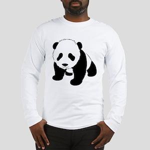 Panda Bear Long Sleeve T-Shirt