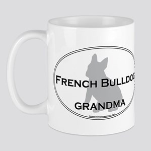 French Bulldog GRANDMA Mug