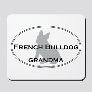 French Bulldog GRANDMA Mousepad