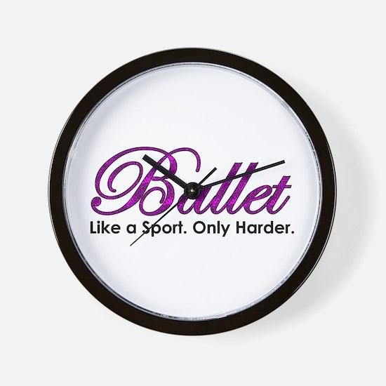 Ballet, Like a sport Wall Clock