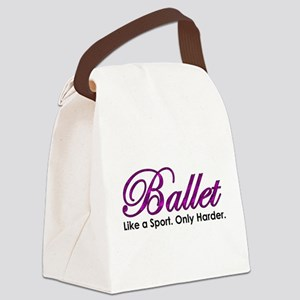Ballet, Like a sport Canvas Lunch Bag