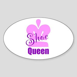 Shoe Queen Sticker (Oval)
