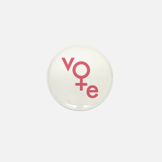Women Vote Mini Button