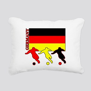 Soccer Germany Rectangular Canvas Pillow