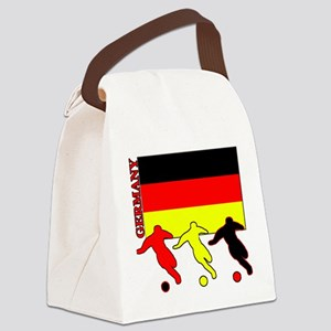 Soccer Germany Canvas Lunch Bag
