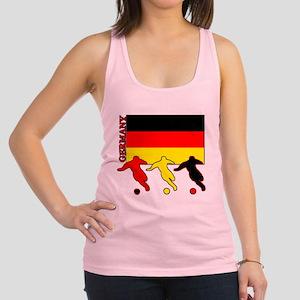 Soccer Germany Racerback Tank Top