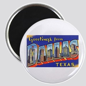 Dallas Texas Greetings Magnet