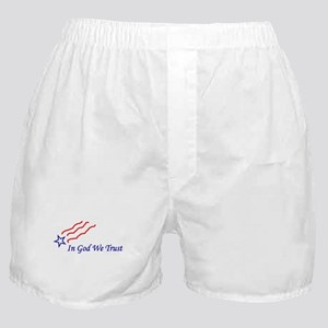 In God star Boxer Shorts