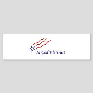 In God star Sticker (Bumper)