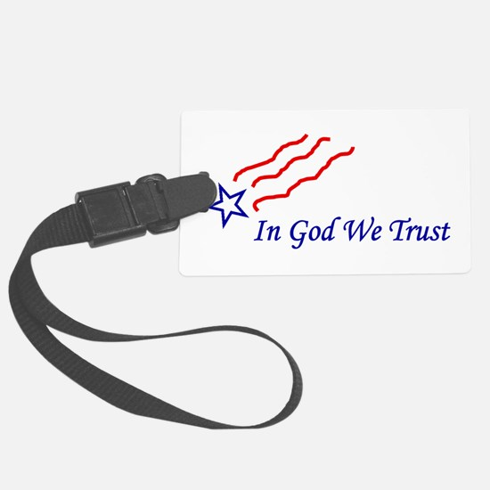 In God star Luggage Tag