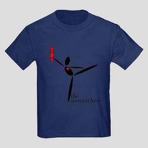 Abstract Nutcracker Kids Dark T-Shirt