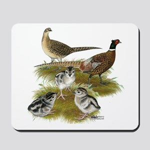Pheasant Family Mousepad