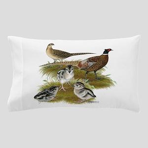 Pheasant Family Pillow Case