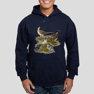 Pheasant Family Hoodie (dark)