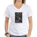 Cthulhu Women's V-Neck T-Shirt