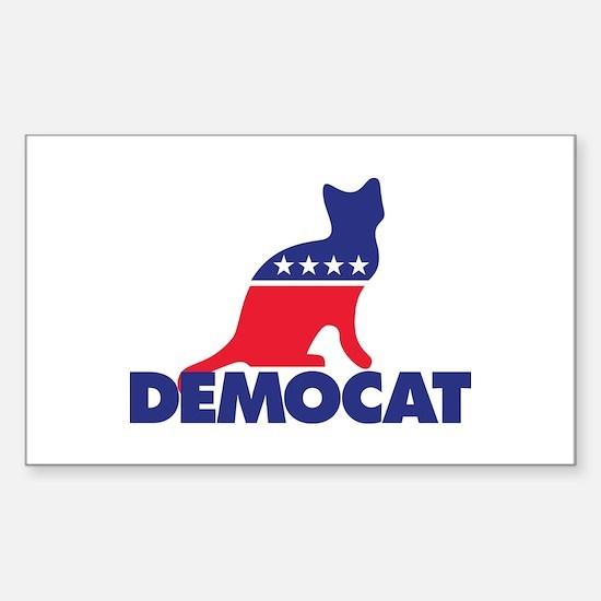 Democat Sticker (Rectangle)