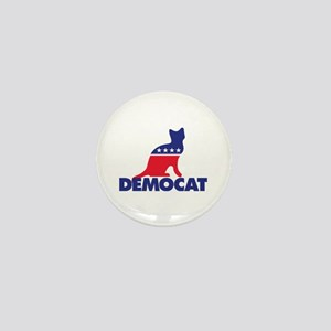 Democat Mini Button