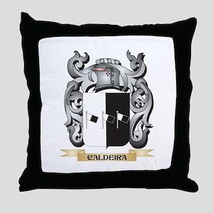 Caldeira Family Crest - Caldeira Coat Throw Pillow