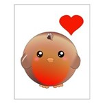Cute bird Small Poster
