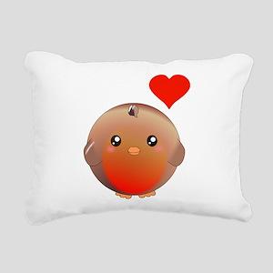 Cute bird Rectangular Canvas Pillow