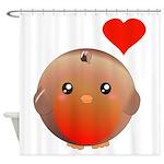 Cute bird Shower Curtain