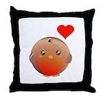 Cute bird Throw Pillow