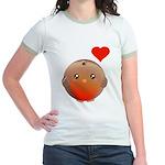 Cute bird Jr. Ringer T-Shirt