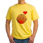 Cute bird Yellow T-Shirt