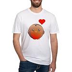 Cute bird Fitted T-Shirt