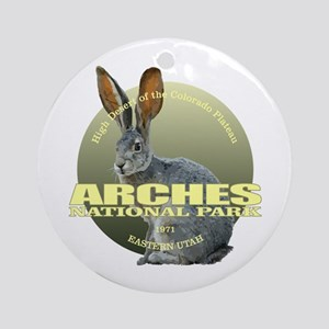 Arches National Park Round Ornament