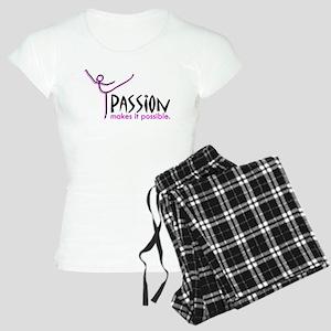 Ballet Passion Women's Light Pajamas