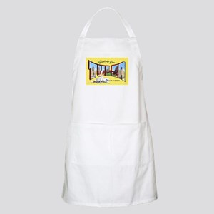 Tulsa Oklahoma Greetings BBQ Apron