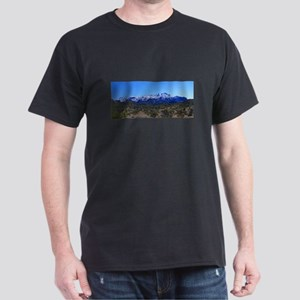 Superstition Panorama with Snow Dark T-Shirt