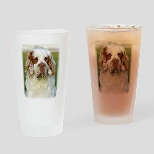 Clumber Spaniel AF015D-125 Drinking Glass