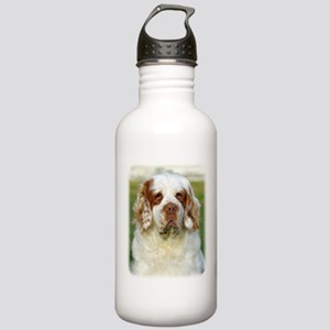 Clumber Spaniel AF015D-125 Stainless Water Bottle
