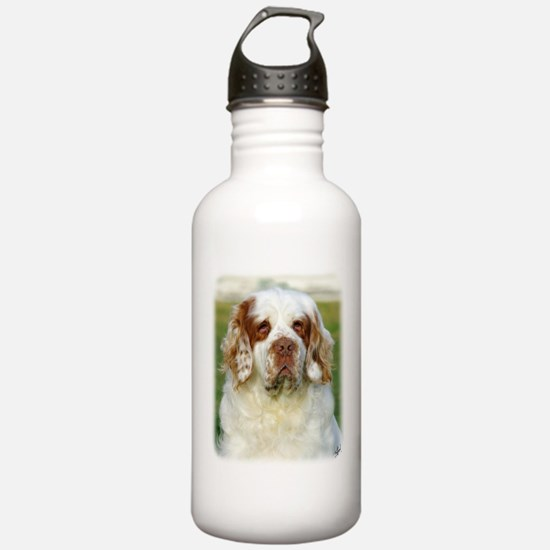 Clumber Spaniel AF015D-125 Sports Water Bottle