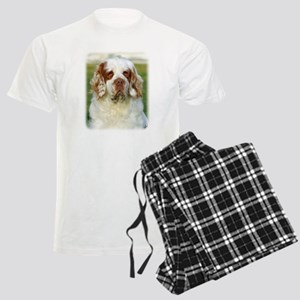 Clumber Spaniel AF015D-125 Men's Light Pajamas