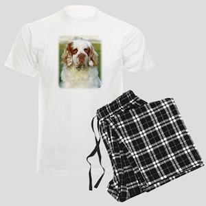 Clumber Spaniel AF015D-125 Men's Light Pajamas
