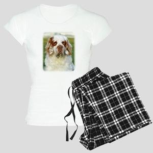 Clumber Spaniel AF015D-125 Women's Light Pajamas