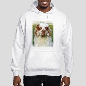 Clumber Spaniel AF015D-125 Hooded Sweatshirt