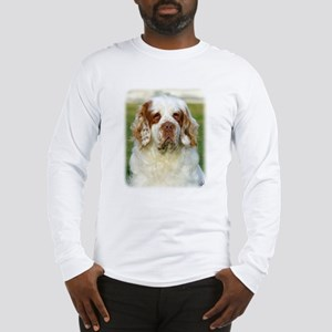 Clumber Spaniel AF015D-125 Long Sleeve T-Shirt