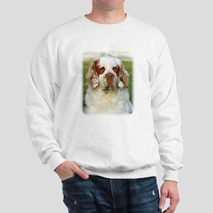 Clumber Spaniel AF015D-125 Sweatshirt