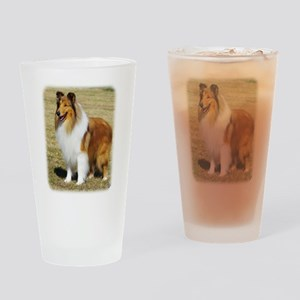 Collie Rough AF036D-028 Drinking Glass